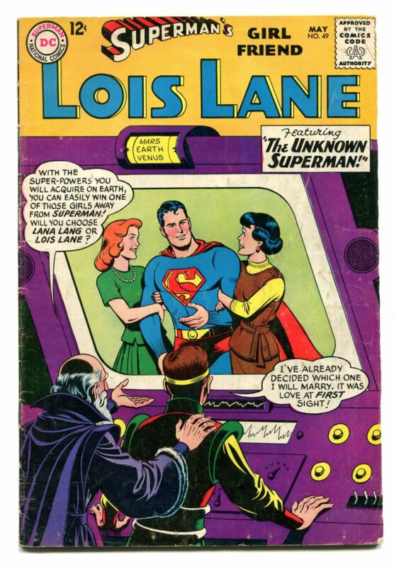 SUPERMANS GIRLFRIEND LOIS LANE # 49