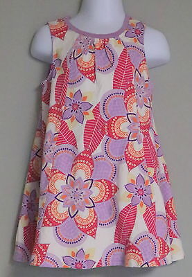 (TEA COLLECTION TODDLER GIRL'S SLEEVELESS JERSEY KNIT DRESS PULL OVER NEW)