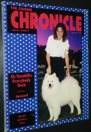 The Canine Chronicle Samoyed Cover Feb 1992