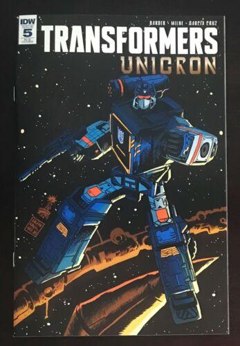 Transformers Unicron #5 Retailer Incentive Soundwave Variant IDW 2018 Comic NM