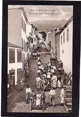"""MADEIRA - Funchal. """"Running Cars from Mount"""".  Portugal. Animated."""