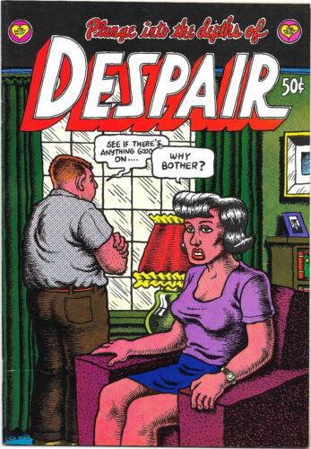 Despair, by Robert Crumb, Print Mint 1969 First printing NM