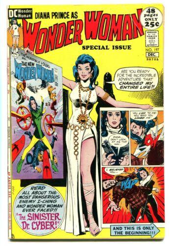 WONDER WOMAN, Issue #197, (DC 1942), VG