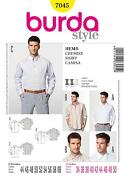 Mens Shirt Sewing Pattern