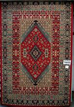 New Large Red Astoria Antique Traditional Persian NZ Red Wool Rug Melbourne CBD Melbourne City Preview