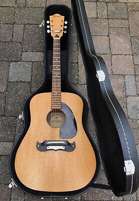 Framus 73B Acoustic Guitar 1970's Right Handed Sounds Great $249 with Case