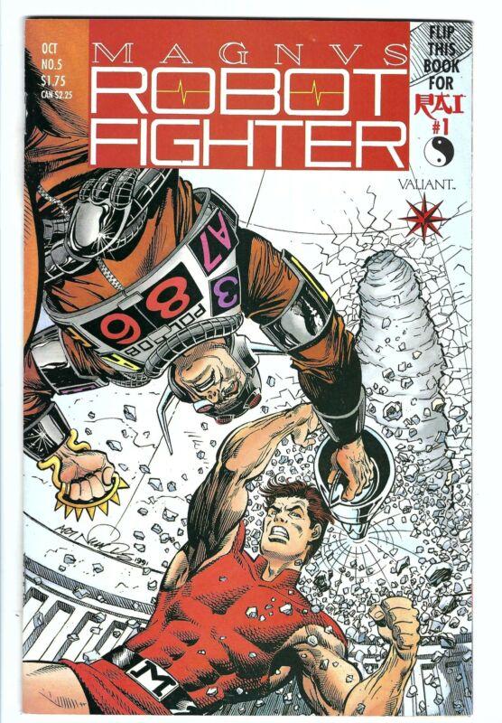 1991 Valiant Magnus Robot Fighter Vol 1 #5   NM