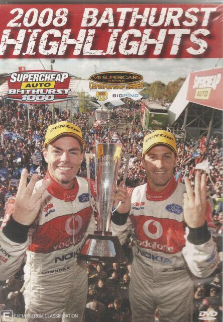 Bathurst Highlights 2008 - V8 Supercars (DVD, 2008)