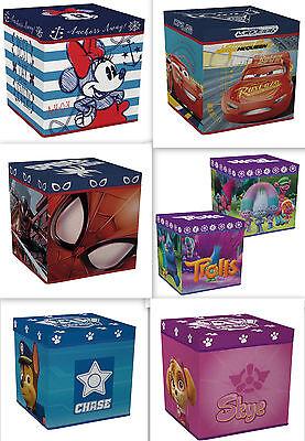 Spielzeugkiste + Hocker AUSWAHL Aufbewahrungsbox mit Deckel Stuhl Kiste