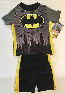 Toddler Baby Boys Batman Gotham 2 Piece Outfit New 12 Month / 24 Month](Baby Batman)
