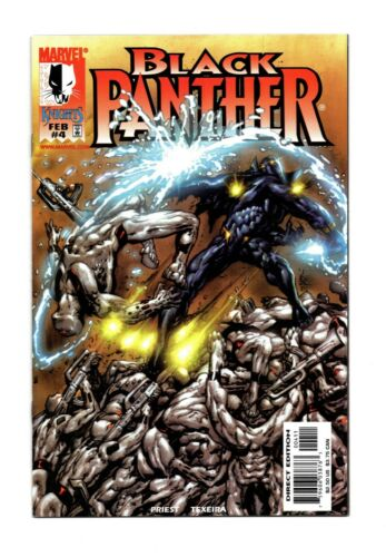 BLACK PANTHER #4 (1999) 1ST WHITE WOLF - NICE NM RANGE COPY - SEE SCANS