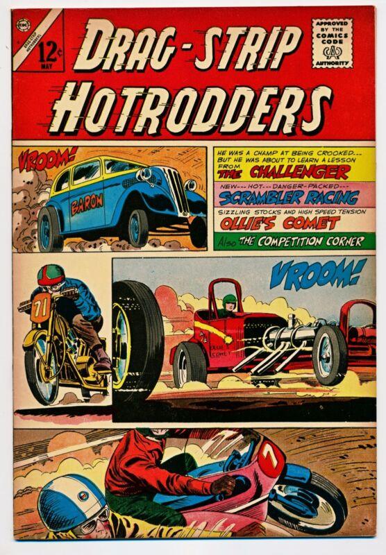 Drag-Strip Hotrodders #6 VF (Oct 1965, Charlton)