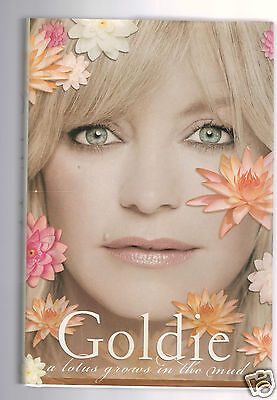 eb0ef136bf06 A LOTUS GROWS IN THE MUD- GOLDIE HAWN FLAT SIGNED 1ST-HB--VERY GOOD  CONDITION