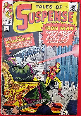 Tales of Suspense 50 1964 First appearance of Mandarin