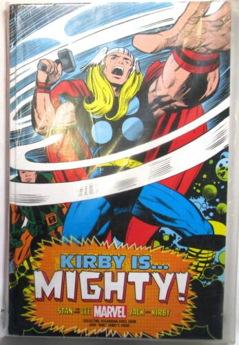 "KIRBY IS... MIGHTY! Comic Book KING SIZE (22"" x 14"") Stan Lee Marvel >NEW< large"