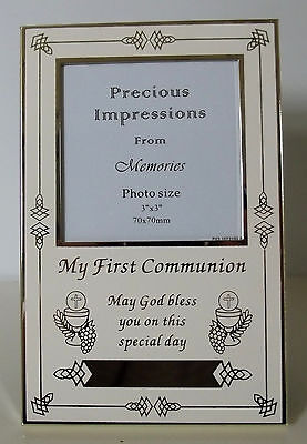 Holy Communion Verse Frame Holds 3