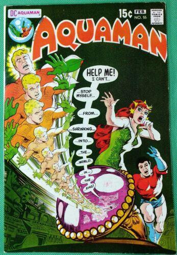 Aquaman (1962) #55 FN/VF (7.0) Mera Cover