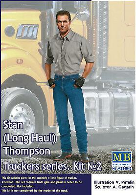 24042 Master Box Trucker Series Stan(Long Haul) Thompson 1:24 neu 2018