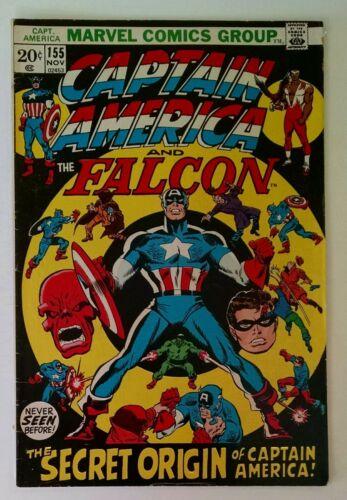 Captain America #155 (Nov 1972, Marvel)