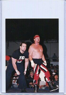 - TERRY FUNK ORIGINAL ECW WRESTLING PHOTO WWE ROH ECW WCW LIVING LEGEND
