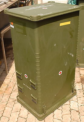 Zarges Haubenbehälter aus Aluminium Aufbewahrungskiste Container wassedicht