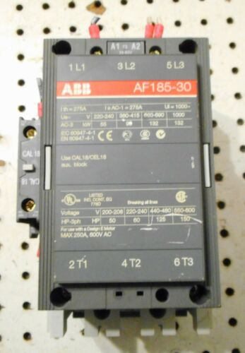 ABB AF185-30 CONTACTOR