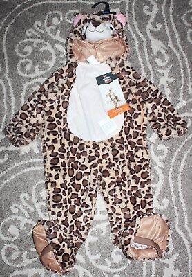Boutique Soft Plush LEOPARD Cheetah Halloween Costume Unisex 18-24m Girls Boys