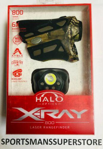 2317 Brand New Halo X-Ray 800 Yard Laser RangeFinder Camo Free Shipping