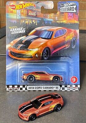 LOT of 2 Hot Wheels Boulevard 18 COPO Chevy Chevrolet Camaro SS 1 BP 1 LOOSE