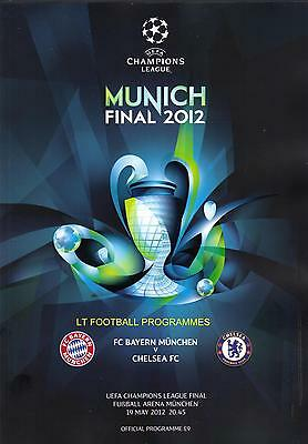 * 2012 CHAMPIONS LEAGUE FINAL - CHELSEA v BAYERN MUNICH *