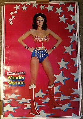 Original Wonder Woman 77 Poster Season 2 Lynda Carter Star Backdrop