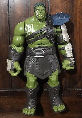 "Marvel 13"" Gladiator Hulk Interactive Action Figure Hasbro 2017- Loose!! for sale  Shipping to India"