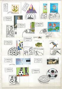 Osterreich-LOT-Jahrgang-2008-Ersttage-auf-Briefstueck