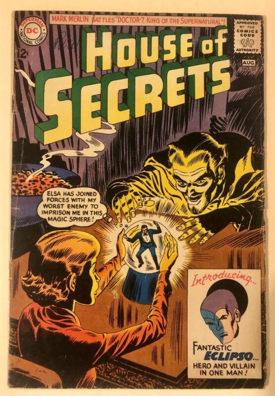 House Of Secrets #61 (1st App Eclipso)