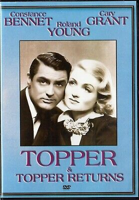 Topper , Topper Returns : Double Feature : Cary Grant (DVD) - BRAND NEW