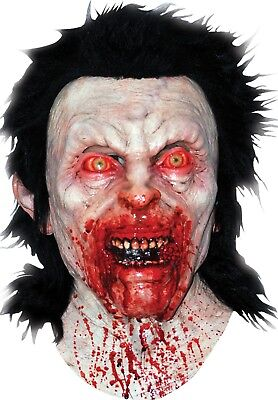 Gruesome Halloween Costumes (Halloween Costume GRUESOME BLOODY ANGER Latex Deluxe Mask Haunted House)