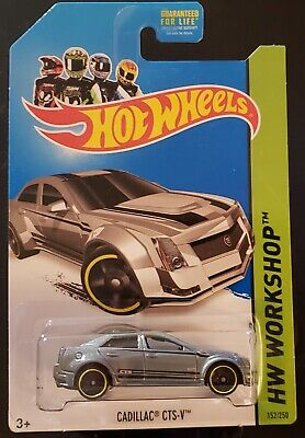 2013 Hot Wheels HW WORKSHOP ASPHALT ASSAULT CADILLAC CTS-V #152/250 K mart GREY