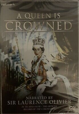 A Queen Is Crowned Lawrence Olivier New Sealed DVD