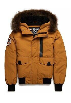Superdry Men's Everest Bomber Jacket: Yellow - M5000039A-IL8