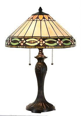 Large Tiffany Table Lamp -16 inch wide