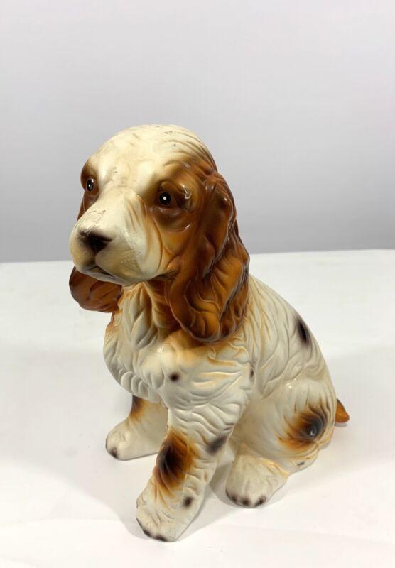Vintage  Collectable Porcelain Ceramic Cavalier King Charles Dog Figurine