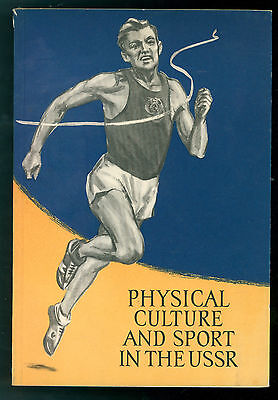 PHYSICAL CULTURE AND SPORT IN THE USSR 1958 RUSSIA COMUNISMO SPORT
