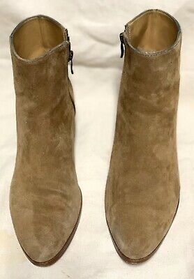 J CREW  WaLKER SUEDE ANKLE BOOTS SIZE 8