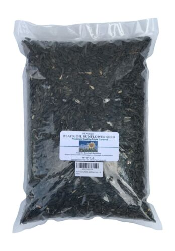 Sunflower Seed:Black Oil Whole/  NON-GMO - 4lb / Great For Sprouting