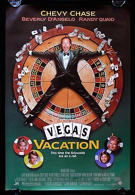 VEGAS VACATION * CineMasterpieces ORIGINAL MOVIE POSTER LAS VEGAS 1997