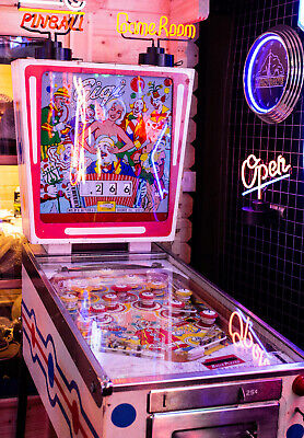 Pinball Machine Gottlieb GIGI 1963 UK Mains Ready Fully Serviced Come Play It!