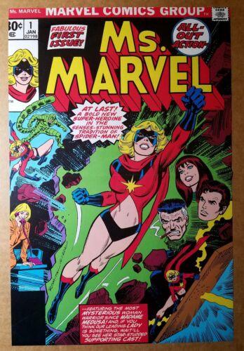 Ms Marvel 1 Marvel Comics Poster by John Romita