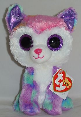 New! Ty Beanie Boos IZABELLA the Husky CLAIRE'S EXCLUSIVE 6