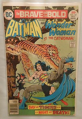 The Brave and the Bold #131 (Batman and Wonder Woman vs the Catwoman!) FN Fine