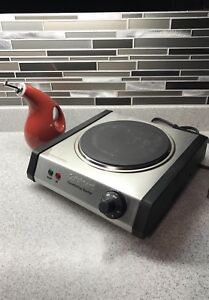 CUISINART Cast-Iron Single Countertop Burner, Hot Plate